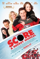 Score: A Hockey Musical - Canadian Movie Poster (xs thumbnail)