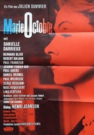 Marie-Octobre - German Movie Poster (xs thumbnail)