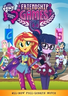 My Little Pony: Equestria Girls - Friendship Games - Movie Cover (xs thumbnail)