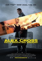 Alex Cross - Mexican Movie Poster (xs thumbnail)