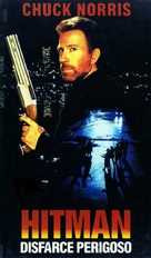 The Hitman - Brazilian VHS movie cover (xs thumbnail)