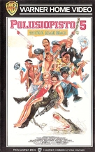 Police Academy 5: Assignment: Miami Beach - Finnish VHS cover (xs thumbnail)