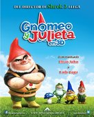Gnomeo and Juliet - Mexican Movie Poster (xs thumbnail)