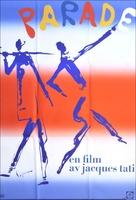 Parade - Swedish Movie Poster (xs thumbnail)