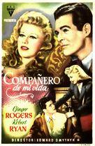 Tender Comrade - Spanish Movie Poster (xs thumbnail)