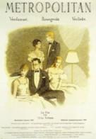 Metropolitan - German Movie Poster (xs thumbnail)