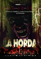 La horde - Mexican Movie Poster (xs thumbnail)