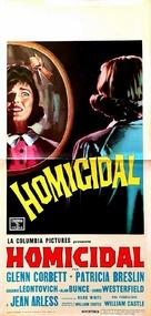 Homicidal - Italian Movie Poster (xs thumbnail)