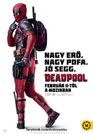 Deadpool - Hungarian Movie Poster (xs thumbnail)