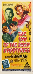 The Inn of the Sixth Happiness - Australian Movie Poster (xs thumbnail)