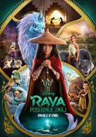 Raya and the Last Dragon - Slovenian Movie Poster (xs thumbnail)