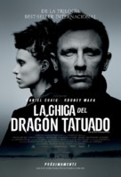 The Girl with the Dragon Tattoo - Mexican Movie Poster (xs thumbnail)