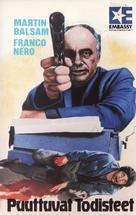Confessione di un commissario di polizia al procuratore della repubblica - Finnish VHS movie cover (xs thumbnail)