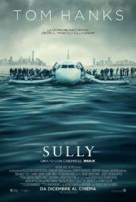 Sully - Italian Movie Poster (xs thumbnail)