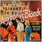 Anybody's Blonde - Movie Poster (xs thumbnail)