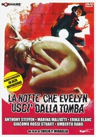 La notte che Evelyn uscì dalla tomba - Italian DVD cover (xs thumbnail)
