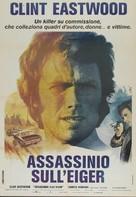 The Eiger Sanction - Italian Movie Poster (xs thumbnail)