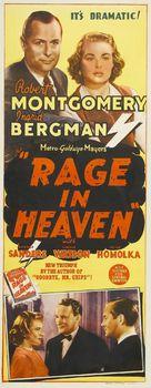 Rage in Heaven - Australian Movie Poster (xs thumbnail)