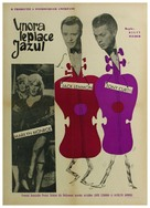 Some Like It Hot - Romanian Movie Poster (xs thumbnail)