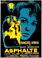 Asphalte - French Movie Poster (xs thumbnail)