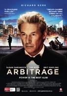 Arbitrage - Australian Movie Poster (xs thumbnail)