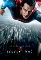 Man of Steel - Slovenian Movie Poster (xs thumbnail)