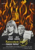 Fahrenheit 451 - German Movie Poster (xs thumbnail)