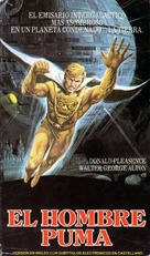 Uomo puma, L' - Argentinian VHS cover (xs thumbnail)