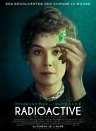 Radioactive - French Movie Poster (xs thumbnail)