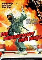 Ninja III: The Domination - German Movie Poster (xs thumbnail)