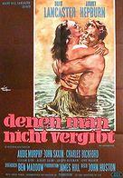 The Unforgiven - German Movie Poster (xs thumbnail)
