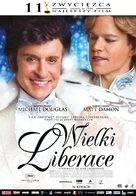 Behind the Candelabra - Polish Movie Poster (xs thumbnail)