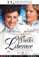 Behind the Candelabra - Polish Movie Poster (xs thumbnail)