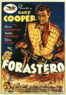 The Westerner - Spanish Movie Poster (xs thumbnail)