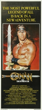 Conan The Destroyer - Movie Poster (xs thumbnail)