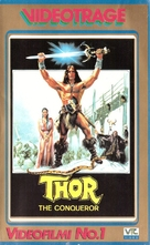 Thor il conquistatore - Finnish VHS cover (xs thumbnail)