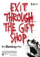 Exit Through the Gift Shop - German Movie Poster (xs thumbnail)
