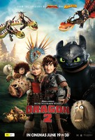 How to Train Your Dragon 2 - Australian Movie Poster (xs thumbnail)