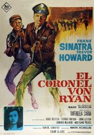 Von Ryan's Express - Spanish Movie Poster (xs thumbnail)
