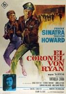Von Ryan's Express - Spanish Movie Poster (xs thumbnail)