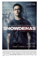 Snowden - Lithuanian Movie Poster (xs thumbnail)