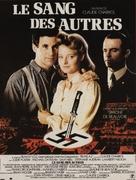 Le sang des autres - French Movie Poster (xs thumbnail)