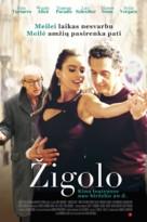 Fading Gigolo - Lithuanian Movie Poster (xs thumbnail)