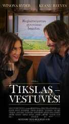 Destination Wedding - Lithuanian Movie Poster (xs thumbnail)