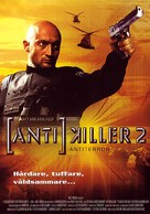 Antikiller 2: Antiterror - Finnish DVD cover (xs thumbnail)