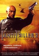 Antikiller 2: Antiterror - Finnish DVD movie cover (xs thumbnail)