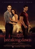 The Twilight Saga: Breaking Dawn - Part 1 - Italian Movie Poster (xs thumbnail)
