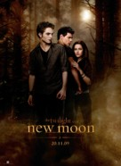 The Twilight Saga: New Moon - Norwegian Movie Poster (xs thumbnail)