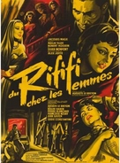 Du rififi chez les femmes - French Movie Poster (xs thumbnail)