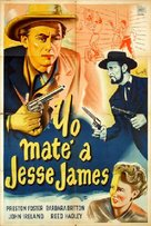 I Shot Jesse James - Spanish Movie Poster (xs thumbnail)